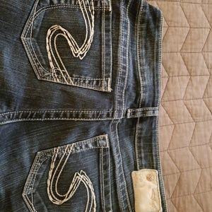 Silver Skinny jeans 29